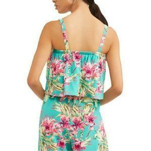 97539c115179 Time and Tru Pants - 🌹NWT Floral Jumpsuit Jumper Romper